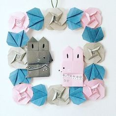 Baby Shower Crafts Origami Shoes