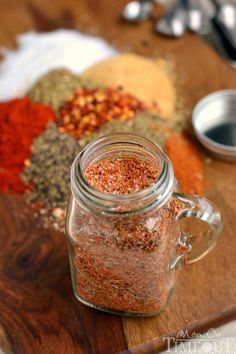Food and Drink. 16 Homemade Spice mixes. Spices for the BBQ, spices for your apple pie. So many great spices!!