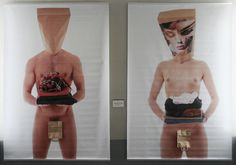 paperbag [reBORN] - naked fashion  by Andreas Ender