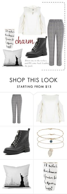 """""""《☆》"""" by bluveraa ❤ liked on Polyvore featuring River Island, Boohoo, Dorothy Perkins, DENY Designs and Kate Spade"""