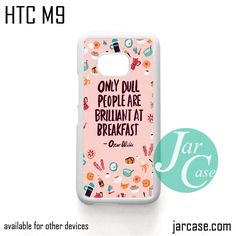 Oscar Wilde Quote YG Phone Case for HTC One M9 case and other HTC Devices