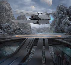 concept spaceship art - Google Search