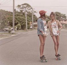 skate girls gays great ride