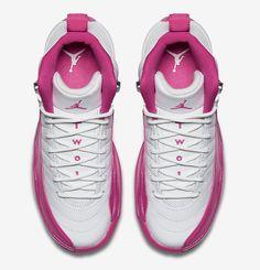 "Girls Air Jordan 12 Retro ""Vivid Pink"" - EU Kicks: Sneaker Magazine"