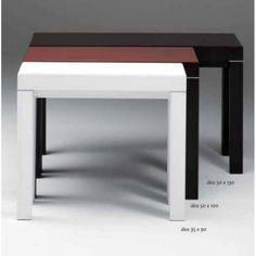 Tavolo Consolle Design LUX 130x50 allungabile 3-5 metri poro aperto http://www.furleostore.com/arredamento/consolle/tavolo-consolle-design-lux-130x50-allungabile-35-metri-legno-rovere-poro-aperto