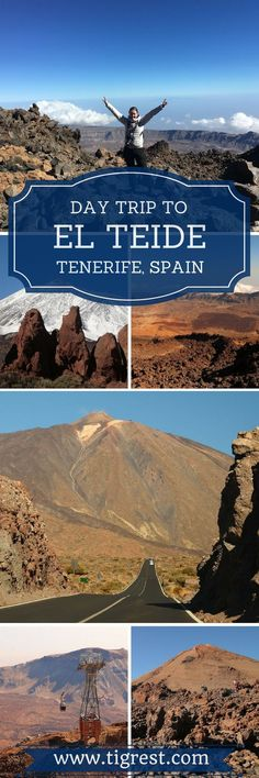 Here is your guide to Mount Teide Tenerife day trip (Canary Islands, Spain). Visiting Teide National Park is considered among the most popular attractions on the island. The last time volcano erupted was back in 1909, but you can actually see the smoke coming out of it once you get closer to the summit.