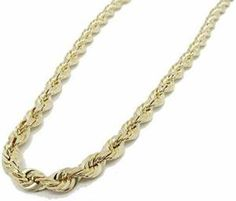 490bcf81b388 Rope Gold Chain   Intertwining Strands of Gold in a double-helix design.