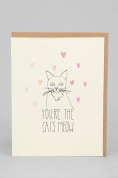 Hartland Brooklyn Cat's Meow Card