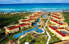 Dreams Punta Cana Resort and Spa on Dominican Republic Beaches!! Trip is booked. Can't beat a free vacation with my honey!! Wooohoooo