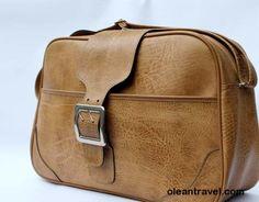 Authentic vintage 1960s travel bag, shoulder bag, gym bag, holdall bag - http://oleantravel.com/authentic-vintage-1960s-travel-bag-shoulder-bag-gym-bag-holdall-bag