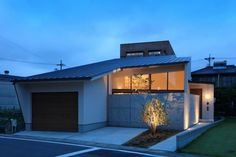 4719 Japanese Modern House, Outdoor Life, Outdoor Decor, Sumika, Mansions, Architecture, House Styles, Interior, Home Decor