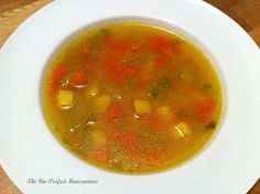 "Tunisian Vegetable Soup, ""Broudou"".  For the recipe: http://theunperfecthousewives.blogspot.nl/2013/02/recipe-tunisian-vegetable-soup-broudou.html"
