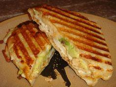 cajun chicken & avacado panini