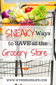 There are so many easy ways to save at the grocery store, many of which don't involve coupons! Become more mindful of activities you do that entice extra spending will make it easier for you to stop those behaviors, and save more money on your groceries! #grocerysavings #grocerystorehacks #saveongroceries #grocerystorelists #frugalliving