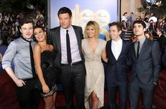 "Lea Michele and Cory Monteith - Premiere Of Twentieth Century Fox's ""Glee The 3D Concert Movie"" - Red Carpet"