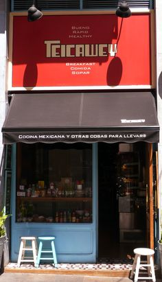 TeicaWey. Comida mexicana para llevar. Barcelona