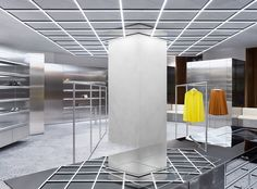 Acne Studios - Store - NK, Stockholm Shop Ready to Wear, Accessories, Shoes and Denim for Men and Women Interior Design Magazine, Studio Interior, Retail Interior, Acne Studios, Bespoke Furniture, Design Furniture, Visual Merchandising, Store Concept, Stockholm Shopping