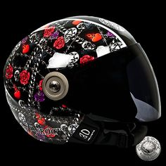 Casque de Moto New Rock (HELMET3D-S20)