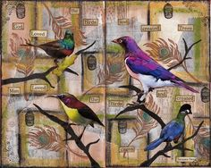 Birdlife... by Liveartnow, having a temporary trade stop :), via Flickr