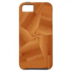 "Absolutely Beautiful!  Varnished Star Center iPhone 5 Case created using our perfected ""Sun Deck"" design technique -  #iPhone #wood"
