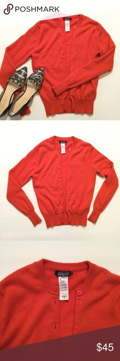 "Patagonia Cashmere Cardigan Button down cashmere cardigan by Patagonia. Size XS. Bust approx 32"" length approx 21.5"" arm length approx 23"". Patagonia Sweaters Cardigans"