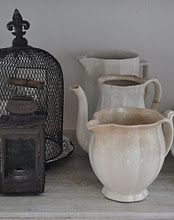 old stained pitchers                 ****