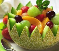 Cesta de melão pra Frutas
