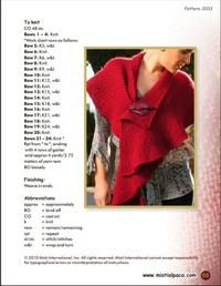 Misti Alpaca, Four-Generations of Alpaca Expertise. Misti Alpaca and Misti Cotton labels carry a family commitment specializing in the highest quality alpaca. Poncho Knitting Patterns, Knitted Poncho, Knitted Shawls, Crochet Shawl, Knit Crochet, Knitting Ideas, Knitwear Fashion, Shawls And Wraps, Free Pattern