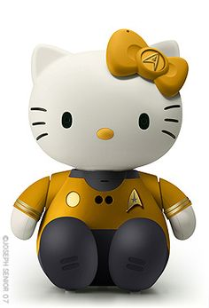 Hello Kirk Kitty. To boldly go where no one has gone before...