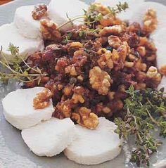 Fig and Walnut Tapenade with Goat Cheese Recipe | Epicurious.com