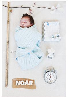 dit is hip  Persoonlijke geboortekaart met unieke gegevens van de pasgeboren baby. #geboortekaart, #babykaart, #babyboy (made by Rej's sweetness photography)