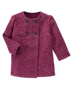 Tweed Coat at Crazy 8