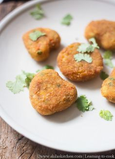 An easy to make evening snack with loads of veggies and fully vegan. A perfect finger food for kids and great tea time snack. Vegetable Cutlets, Finger Foods For Kids, Cutlets Recipes, Tea Time Snacks, Evening Snacks, Learn To Cook, Salmon Burgers, Kids Meals, Healthy Snacks