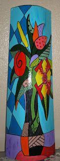 Inarte: Minhas telhas,pinturas em telhas,telhas pintadas. Roof Tiles, Mason Jars, Arts And Crafts, Painting, Ceramic Art, Painting Art, Creative Crafts, How To Make Crafts, Diy Tutorial