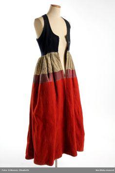 Blouse Patterns, Clothing Patterns, Swedish Fashion, Folk Costume, Fashion History, Fashion Outfits, Womens Fashion, The Dress, Fashion Details
