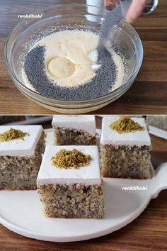 Böyle Yapın Revaniyi Övgüler Size Gelsin - Food and drinks interests Small Desserts, Great Desserts, Köstliche Desserts, Delicious Desserts, Best Easy Dessert Recipes, Pastry Cook, Tolle Desserts, Tiramisu Dessert, Turkish Recipes