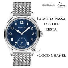 """""""La moda passa, lo stile resta."""" -Coco Chanel Per Info: ✉ info@lostivale.eu https://lostivale.eu/ #LoStivale #Orologi #Articoli da #Regalo #Penne #Borse #Montblanc #Oro #Argento #Roma #Milano #MadeInItaly #Luxury #Mood #Style"""