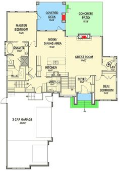 Optional Lower Level - 81609AB | 1st Floor Master Suite, CAD Available, Canadian, Corner Lot, Den-Office-Library-Study, European, In-Law Suite, Media-Game-Home Theater, PDF, Sloping Lot | Architectural Designs