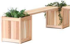 All Things Cedar PLB60U 5' Planter Bench