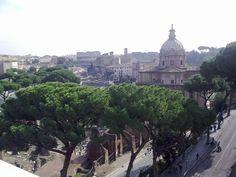 Rome. View from Altare della patria.
