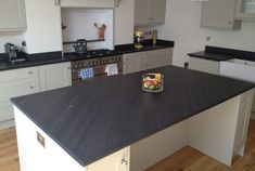 kitchen-islands-with-sink Slate Worktops 05 Slate Worktops 05 Slate Worktops. Slate Kitchen, Kitchen Island With Sink And Dishwasher, Slate, New Homes, Kitchen, Slate Worktops, Home Decor, Kitchen Worktop, Kitchen Makeover