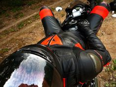 Relax in full Dainese gear. Visit my site : hlsbprod.com