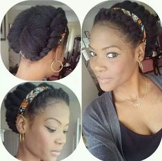 Check out fab twisted updo! Great protective style Check out fab twisted updo! Pelo Natural, Natural Hair Updo, Natural Hair Journey, Natural Hair Care, Natural Hair Styles, Simple Natural Hairstyles, Protective Hairstyles, Protective Styles, Twist Hairstyles