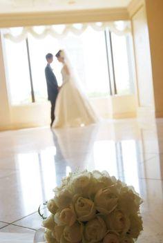 新郎新婦様からのメール イグナチオ教会とリーガロイヤルホテル様へ : 一会 ウエディングの花