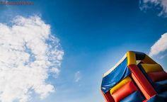 Six-year-old girl dead after bouncy castle flies away