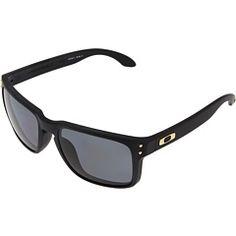 f070b7e0978 Oakley holbrook polarized shaun white gold series matte black w grey  polarized