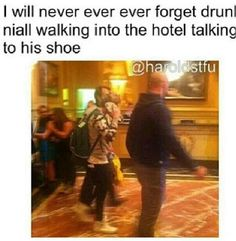 I'm firing in a fit of laughter.! A drunk Niall is a good Niall :)