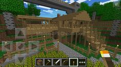 Epic+Minecraft+Mansions | EPIC House Building Designs – Minecraft Pocket Edition