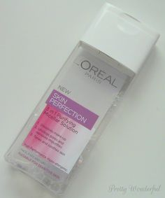 Pretty Wonderful: L'Oreal Skin Perfection 3 in 1 Purifying Micellar Solution #Loreal #skincare #cleanser #bbloggers #beauty