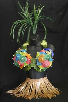 Hilarious! Forget the coconut bra; we have umbrellas!